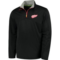 Reebok Center Ice Baselayer 1/4 Zip NHL Jacke Detroit Red Wings